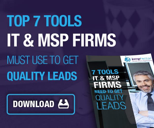 it msp marketing services websites