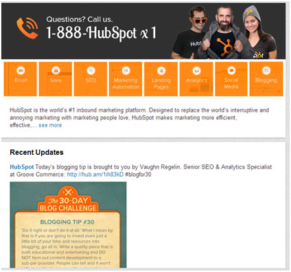 HubSpot 30 Days Blogging Challenge brought the Audience a Tip a Day from Reputed Bloggers